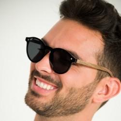 Copaiba Cambodia Black - Polarized Biodegradable Sunglasses