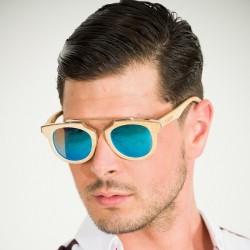 Copaiba Guatemala GoldBlue - Polarized Biodegradable Sunglasses