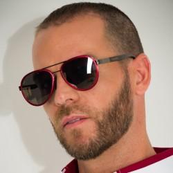 Copaiba Portugal Red - Polarized Biodegradable Sunglasses